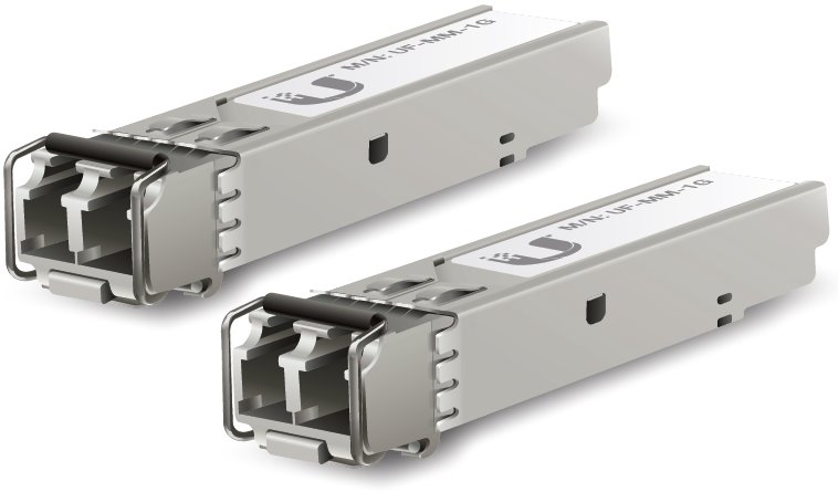 Ubiquiti UF-MM-1G Модуль SFP, U Fiber, Multi-Mode Module, 1G, 2-Pack